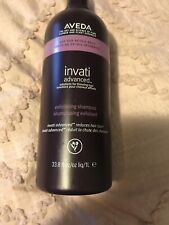 Aveda Invati Advanced Exfoliating Shampoo 33.8 fl oz. 1 Liter BB with Free Pump.