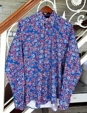 Brioni Cotton Men's Long Sleeve Shirt Size : M