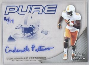2013 Leaf Trinity CORDARRELLE PATTERSON #P-CP2 RC Rookie Pure /17 Vikings