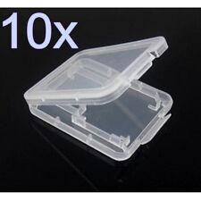 10 Speicherkarte Schutzhülle Box Hülle Aufbewahrungsbox für Mini SD MMC TF Karte