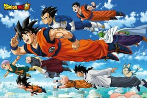 Dragon Ball Super  Flying Maxi Poster size 61x91.5cm FP4917