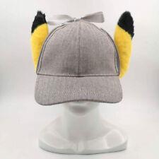 "Detective Pikachu Hat Pokemon Detective Cap Plush Toy Stuffed Animal 13"""