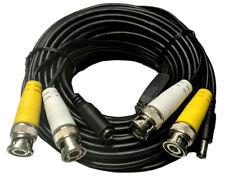10m Profi Videokabel RG59 Audio Strom Kombikabel - BNC - Cinch - Netzleitung NEU