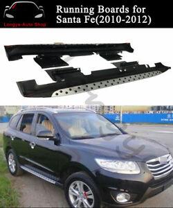 Fits for Hyundai Santa Fe 2010-2012 Running Boards Side Step Nerf Bars