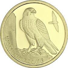 Deutschland 20 Euro 2019 Wanderfalke Goldmünze Münzzeichen Historia Hamburg Wahl