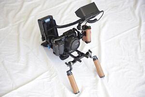 Blackmagic pocket cinema camera 6k rig