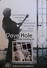 DAVE HOLE, OUTSIDE LOOKING IN POSTER (M12)