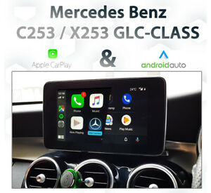 Mercedes C253 X253 GLC Class - Apple CarPlay & Android Auto Integration