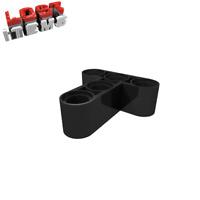 20 x [neu] LEGO Technik Liftarm hoch 3 x 3 T-Form - schwarz - 60484