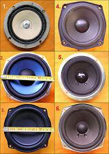 Assorted 5 - 5.5 inch AKAI KENWOOD LG PIONEER SHARP Speakers
