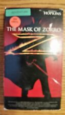 The Mask of Zorro VHS Video Movie VCR Anthony Hopkins