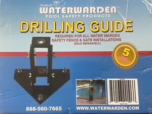 """Swim Time Guide Inground Drilling 5/8"""" Anchor Holes to Easily Install Your Wa..."""