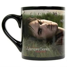 Vampire Diaries Damon on the Grass Black Mug  BRAND NEW!