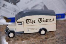 "Matchbox MODELS OF YESTERYEAR YPP02 1931 MORRIS VAN "" THE LONDON TIMES"""