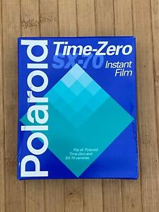 RARE! POLAROID SX-70 Instant Film Time Zero 10 Pack Unopened EXP 11/98.