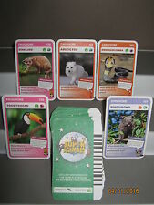 Woolworths Super Animals Green set 59 spares n/mint 5 for $1.00