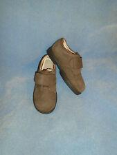 JJ School Jumping Jacks Medium Brown Nubuck Leather Oxfords Size 9 1/2 M New!