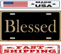 CLERGY METAL NOVELTY LICENSE PLATE TAG