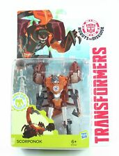 "TRANSFORMERS Robots in Disguise SCORPONOK 5"" Decepticon action figure toy - NEW!"