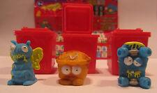 3 figuras * Trash Pack * serie 4 * lazos de basura * Preziosi * nuevo (w33)