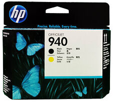 HP 940 C4900A Black Yellow Print head,New,free shipping,Single Unit