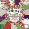 """First Edition ~ Paper Pad ~ 48 - 6x6"""" 200gsm sheets ~ Merry Little Christmas"""
