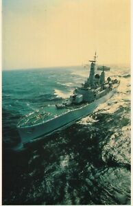Falklands Task Force No 21 HMS Diomede Armed with Anti Ship Exocet Missiles.