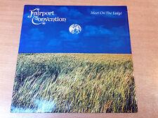 "EX/EX !! Fairport Convention/Meet On The Edge/1987 Island 12"" Single"