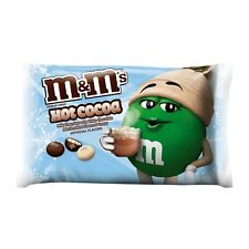 M&M'S^ 8 oz Bag HOT COCOA Chocolate+Marshmallow CHRISTMAS Candy NEW! Exp. 8/19