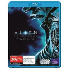 ALIEN ANTHOLOGY Quadrilogy 1 2 3 4 : NEW Blu-Ray