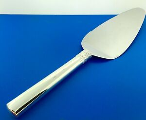 Designer Vera Wang Silver Plate Wedgewood With Love Pie Cake Pastry Knife Server