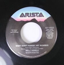 Pop 45 Milli Vanilli - Baby Don'T Forget My Number / Too Much Monkey Business On
