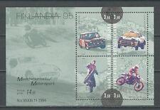 Autos, Motorräder - Finnland - Bl.16 ** MNH 1995