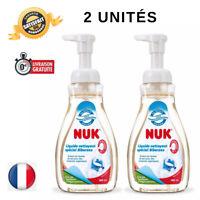 Nettoyant pour Biberon & Accessoire Bébé Liquide d'origine naturelle 2 flacons