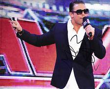 The Miz Signed 10X8 Photo WWE Mike 'The Miz' Mizanin AFTAL COA (7079)