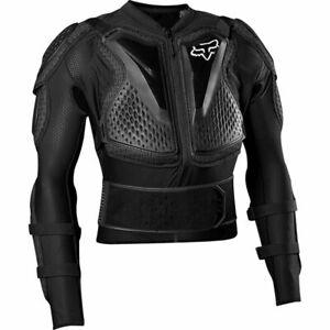 2020 Fox Racing Adult Black Titan Sport Jacket Body Armor MX, Off-Road, MTB, ADV