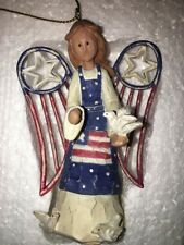 Mk Nwt Roman American Angel Accents Angel with Dove 71383 Ornament