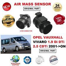 Para Opel Opel Vivaro 1.9 DI DTI 2.5 CDTI 2001 - > Sensor De Masa De Aire Con Carcasa
