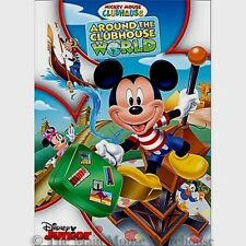 Disney Junior Mickey Mouse Clubhouse Around the Clubhouse World Tour Kids DVD