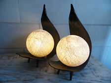 """2 Palmenblattlampen """"BALI"""", Büro, Nachttischlampe,Design, Dekoleuchte, db"""