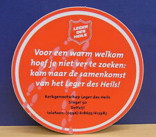 1x Sticker - Decal /  Leger des Heils / Delfzijl with org.back 80/90's (02003)