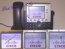 ★★ Cisco Unified IP Phone 7945 7945G CP-7945G VOIP SIP 1x Piece 1x Stück