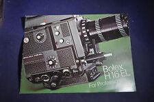 Bolex H16 EL for Professionals Brochure