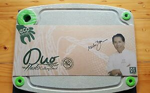 Husk'sWare Cutting Board DUO(S) - Antibacterial with Nano Silver Technology SALE