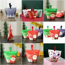 Merry Christmas Santa Forest Party Paper Gift New Sweets Bags Boxes 2020 Favour