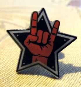 Anstecker Pin Heavy Metal Hardrock