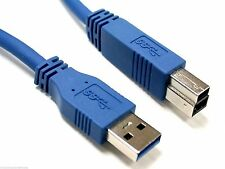 5m USB 3.0 Cable SuperSpeed Male Type A to B Lead Blue