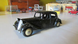 Citroën Traction 11 BL avec malle Dinky Toys n° 24 N, Made in France, TBE