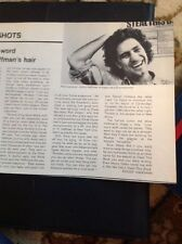N1-8 Ephemera 1971 Article Abbie Hoffman Hair