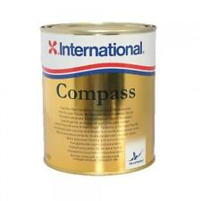 International Compass Varnish 750ml Tin - Ideal for Exterior Marine Use